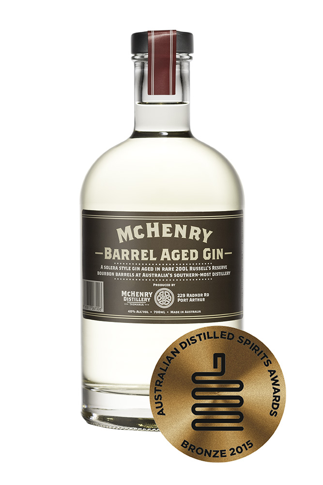 Mc Henry Distillery - Italia 700ml McHenry Barrel Aged Gin-Bronze medal