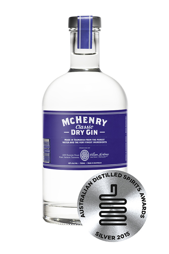 Mc Henry Distillery - Italia 700ml McHenry Classic Dry Gin-Silver medal