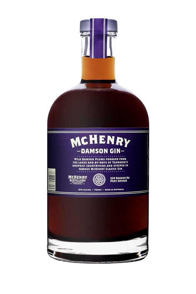 Mc Henry Distillery - Italia 700ml McHenry Damson Gin
